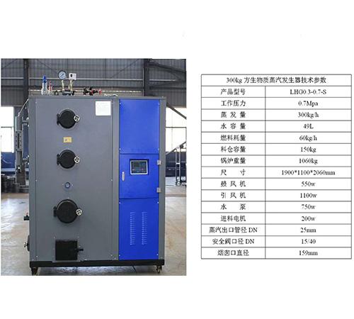 300方生物质蒸汽发生器
